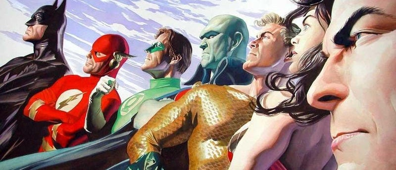 Illustration for article titled If This Is the DC Superhero Movie Schedule Through 2018, It's Insane