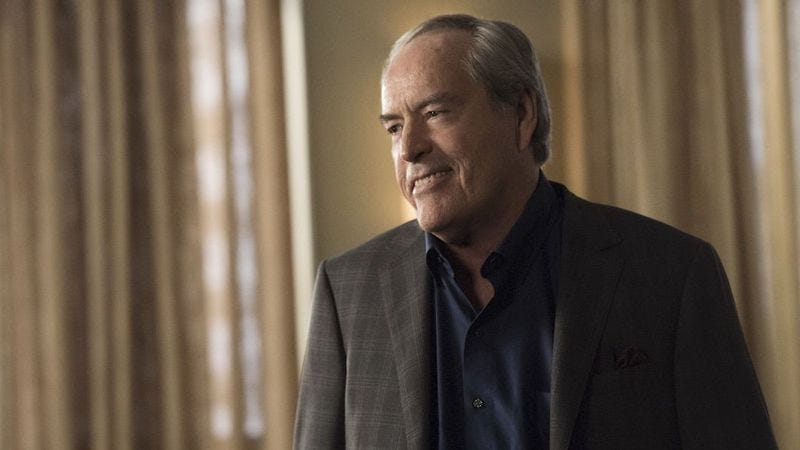 Powers Boothe as Gideon Malick on Marvel's Agents Of S.H.I.E.L.D.