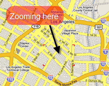 Illustration for article titled Google Maps adds scroll wheel zoom