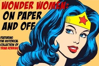 "Illustration for article titled A Major Nod to Female Comic Artists with ""Wonder Women, On Page and Off"""