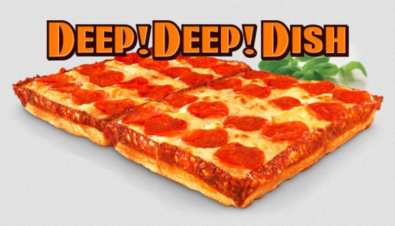 Illustration for article titled Should You Try Little Caesars' 'Detroit-Style' Pizza?