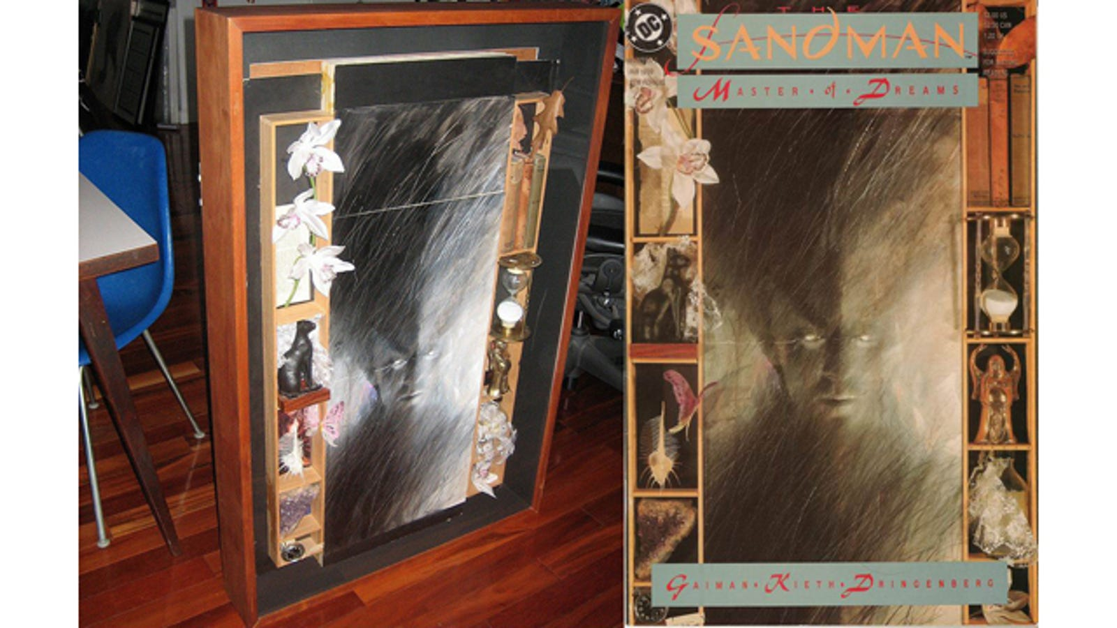 How Dave McKean created Sandman's multidimensional covers ...