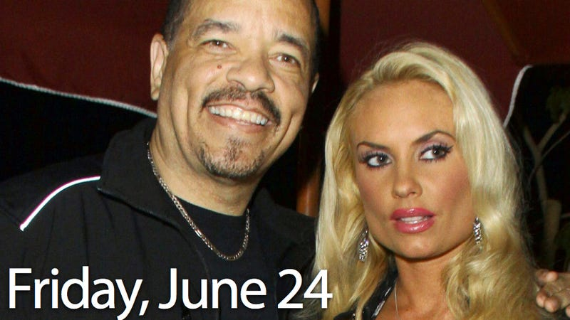 Illustration for article titled Ice-T & Coco Are Gonna Have A Baby