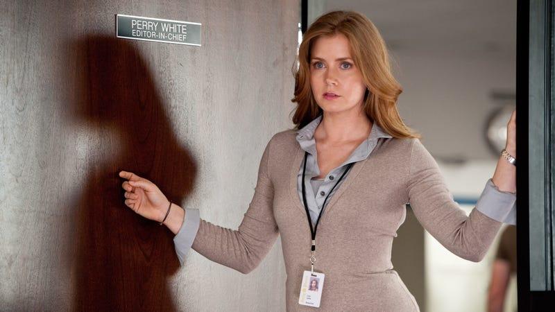 Amy Adams as Lois Lane in Man of Steel.