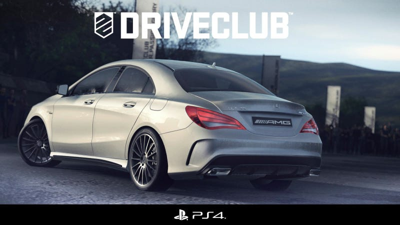 Illustration for article titled Mercedes-Benz CLA45 AMG Makes Its Video Game Debut In Driveclub