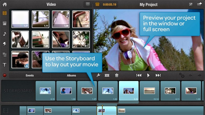 Illustration for article titled Avid Studio Serves Up 'Prosumer'-Grade Video Editing on the iPad