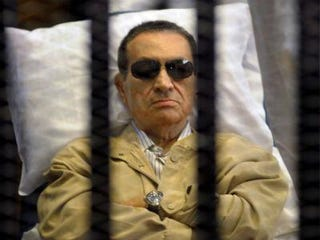 Hosni Mubarak (STR/AFP/Getty Images)