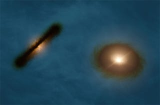 Illustration for article titled This Is Probably The Weirdest Binary Star System Ever Discovered