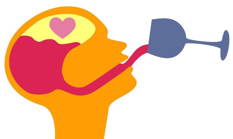 Tu cerebro es similar cuando estás borracho y cuando estás enamorado