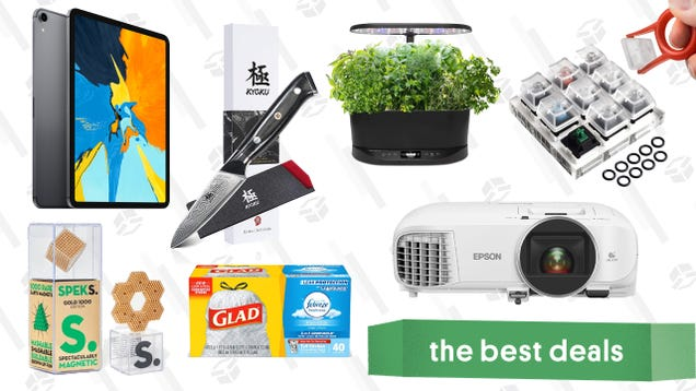 Friday s Best Deals: Epson Home Cinema Projector, Kyoku Chef s Knife, Mario Party Switch Bundle, and More