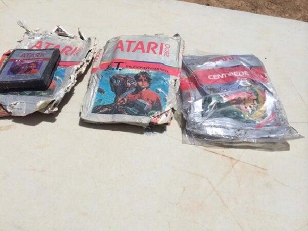 Era cierto: encuentran enterrados los videojuegos de Atari de E.T.