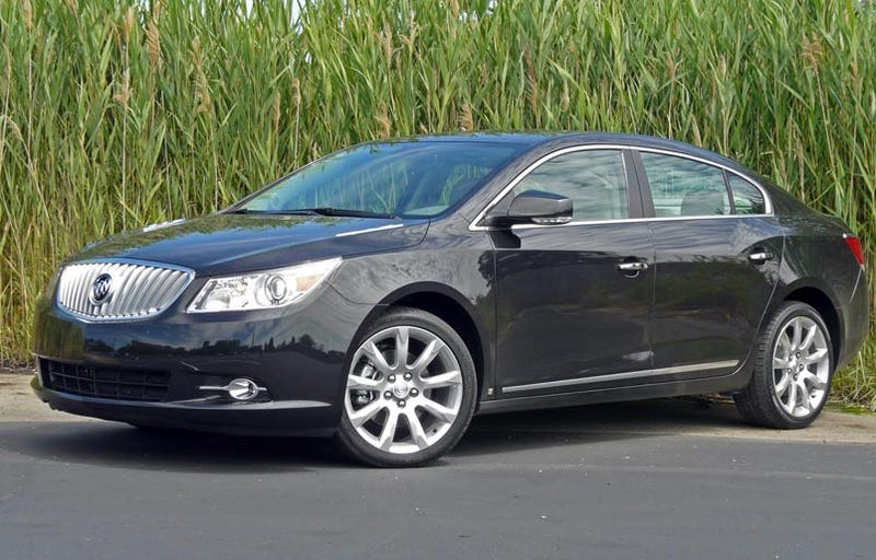 2010 buick lacrosse first drive. Black Bedroom Furniture Sets. Home Design Ideas