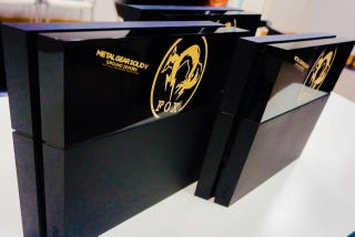 Illustration for article titled Metal Gear Solid V: Ground Zeroes Is Getting Its Own PS4 Console