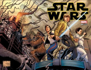 Illustration for article titled A Giant Treasury Of Awesome Comic Covers For Marvel's Star Wars #1