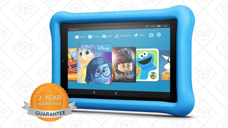 Fire HD 7 Kids Edition, $80 with code KIDSFIRE7Fire HD 8 Kids Edition, $100 with code KIDSFIRE8