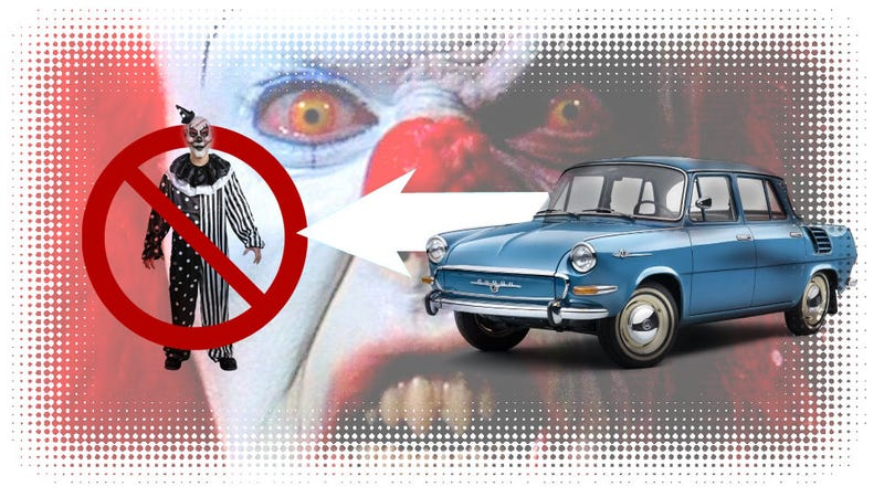 Illustration for article titled How To Kill Evil Clowns With Your Car