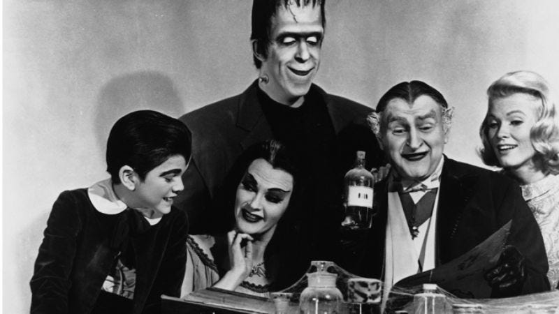 Illustration for article titled The Munsters reboot is too edgy to be called The Munsters