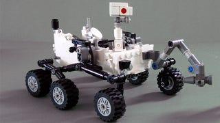 Illustration for article titled La Mars Curiosity estará disponible en Lego