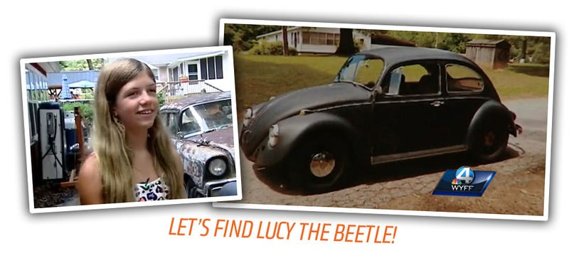 Illustration for article titled We Have To Find This 10 Year Old Girl's Stolen '67 Beetle