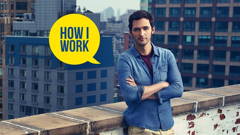 Illustration for article titled I'm Jason Silva, Host of BrainGames, and This Is How I Work