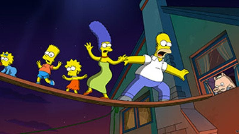 Illustration for article titled The Simpsons Movie