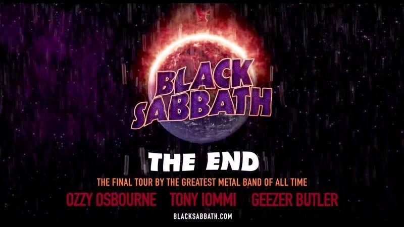 Illustration for article titled Black Sabbath announces dates for its final tour