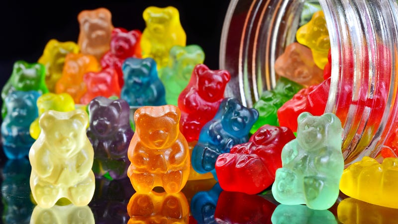 Illustration for article titled Last Call: How many gummi bears can you identify just by color?