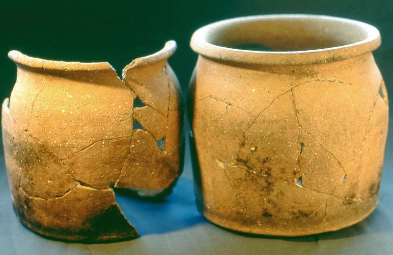 Una de las ollas medievales analizadas en el estudio.