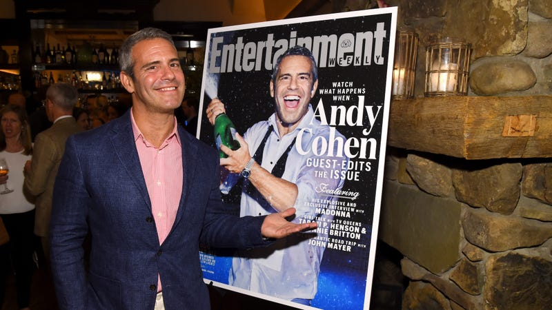 Illustration for article titled Andy Cohen to Annoy Us on New Year's Eve