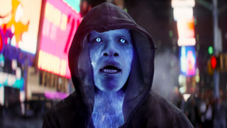 Jamie Foxx as Electro in The Amazing Spider-Man 2Sony Pictures