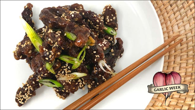 How to make Chinese takeout-style honey garlic crispy beef