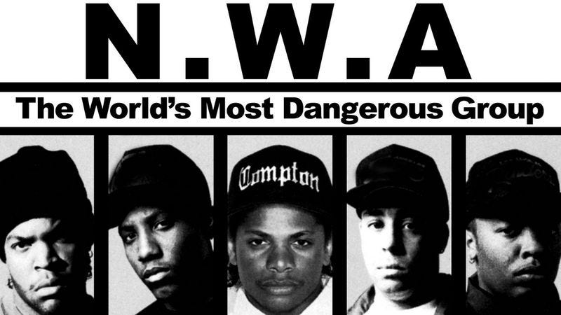 Illustration for article titled Movie fans, you have your lesser players in the N.W.A biopic now