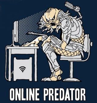 Illustration for article titled Beware of Online Predators (They Have Wi-Fi)