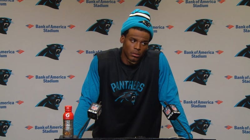 Cam Newton To Reporter: