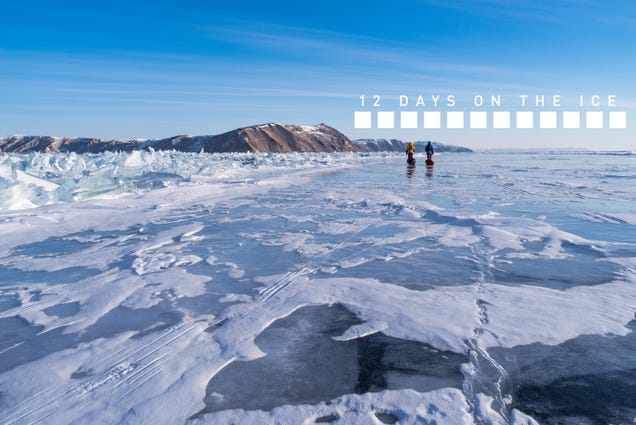 Three Men Crossed Frozen Lake Baikal, And Chased More Than A World Record