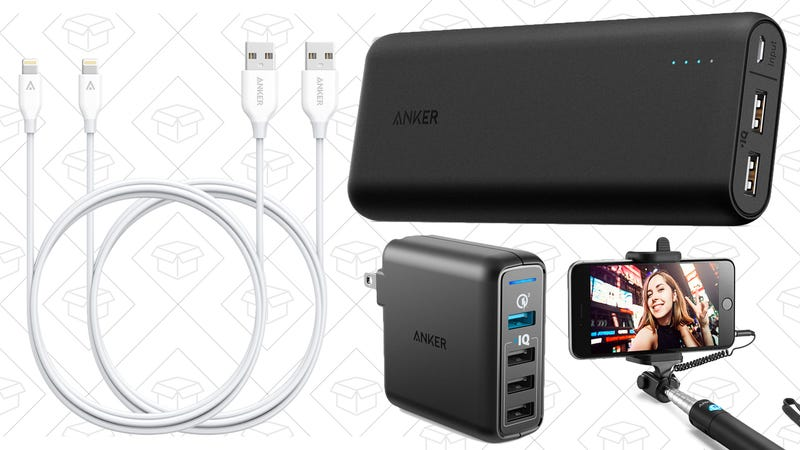 Illustration for article titled Save On Your Favorite Charging Products During Anker's Spring Sale