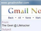 Illustration for article titled Gmail Notifier Keeps Track of New Email