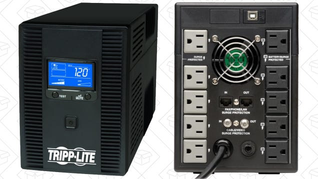 Save $30 On This Massive UPS, and Never Worry About Power Interruptions Again