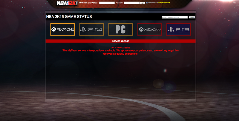 Illustration for article titled NBA 2K15 Players Report Widespread Problems, Lost Progress