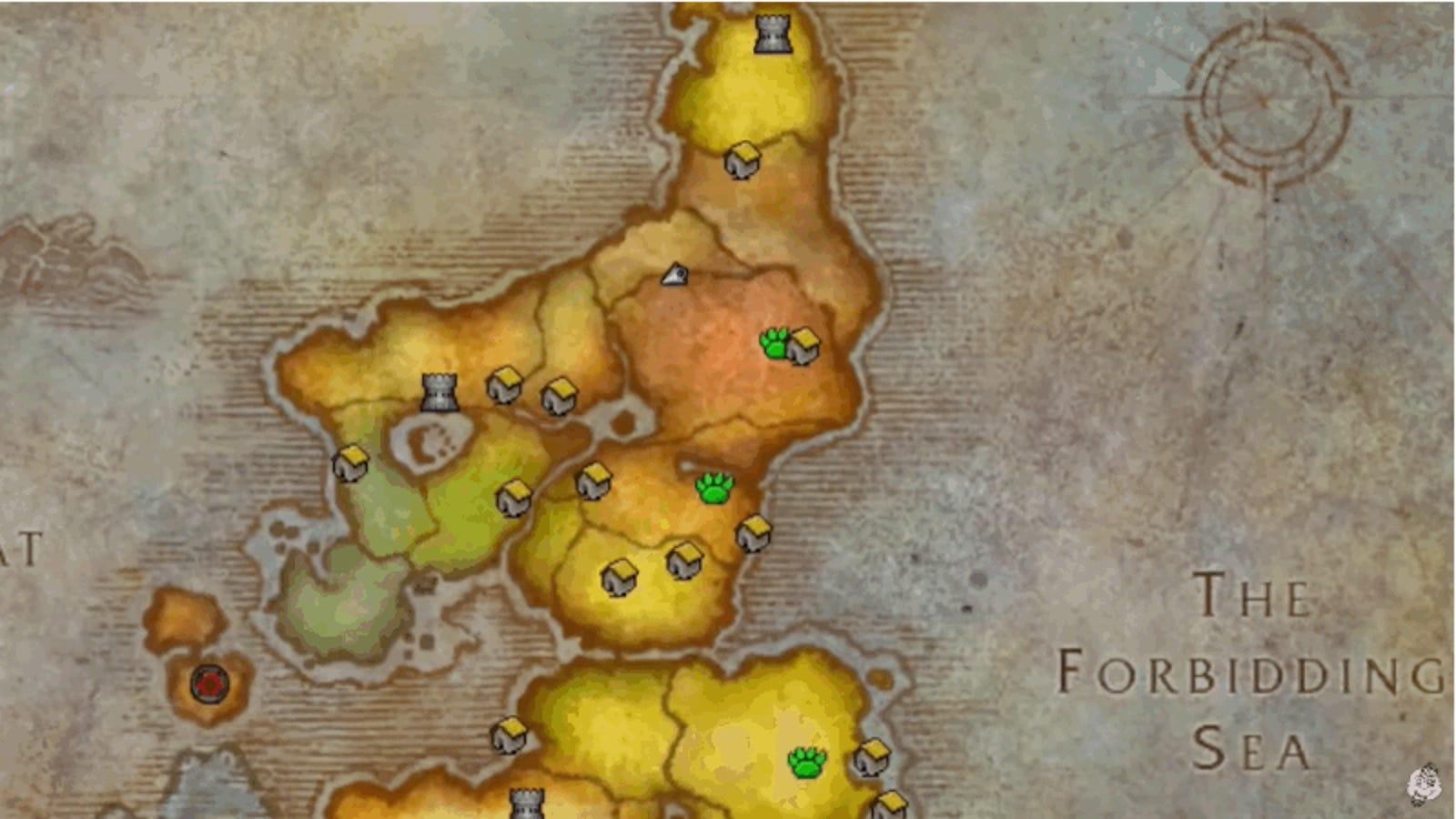 Cómo llegar a la zona de World of Warcraft que ha permanecido secreta durante años