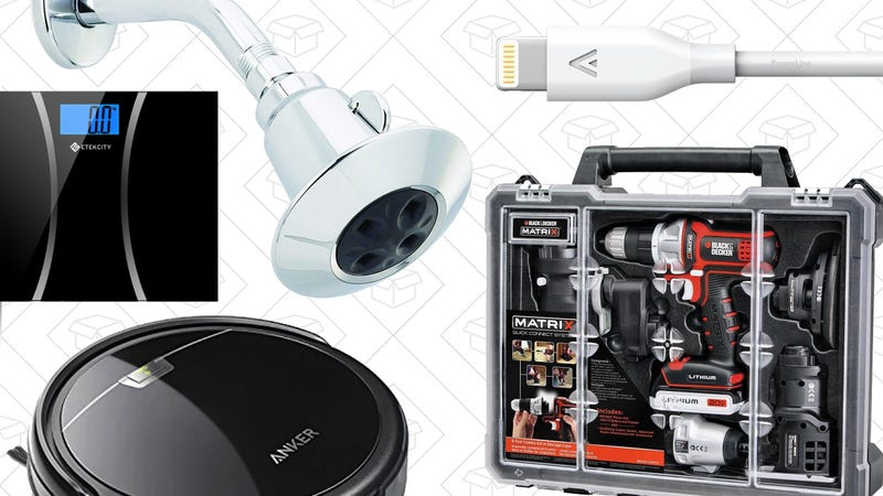 Illustration for article titled Today's Best Deals: Your Favorite Anker Gear, 6-in-1 Tool Set, and More