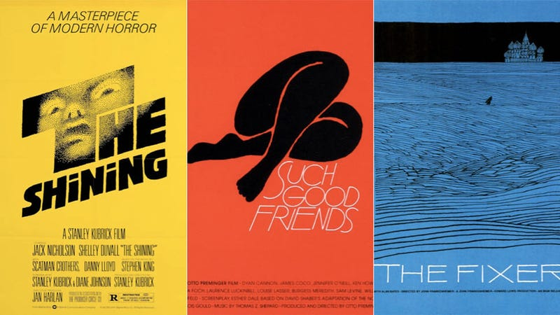 Illustration for article titled 17 of the Coolest Film Posters Designed By Minimalist Legend Saul Bass