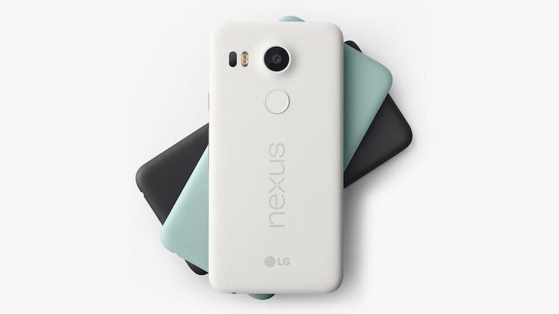 Illustration for article titled Nexus 5X es oficial, aquí vuelve el espíritu de los mejores Nexus