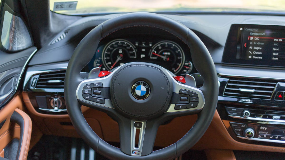 The 2018 BMW M5's 600 HP Will Clear All Thoughts From Your Mind With