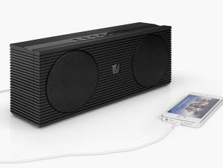Illustration for article titled Get 28% off SoundFreaq's New Double Spot Speaker (Giz Exclusive)