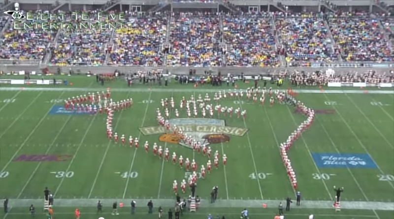 "Illustration for article titled FAMU Band Performs ""Kermit Drinking Tea"" Formation At Florida Classic"