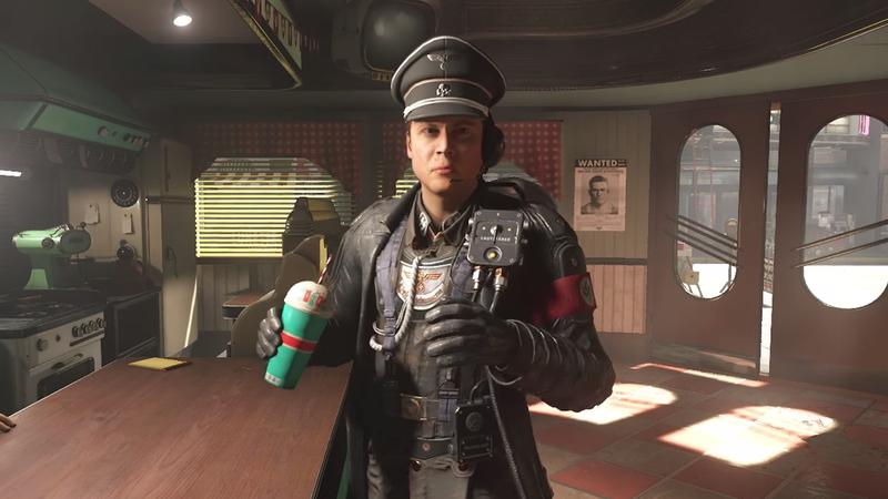 """It was a """"Nazi with a strawberry milkshake"""" kinda night."""