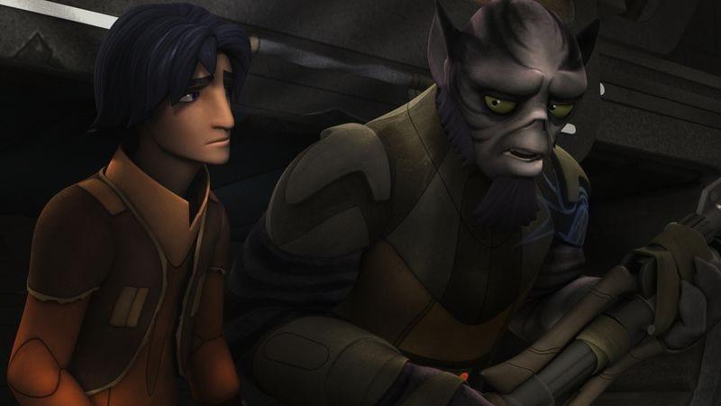Illustration for article titled Prophecy nonsense aside, Star Wars Rebels provides Zeb a spiritual awakening