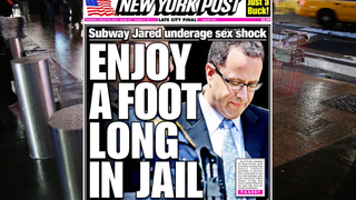 <i>New York Post</i> Publishes Front-Page Rape Fantasy
