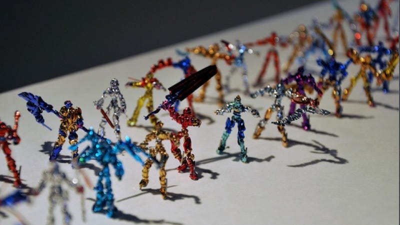Illustration for article titled I've Never Seen Action Figures Like This Before